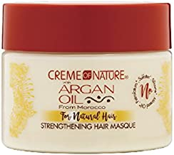 Creme of Nature with Argan Moisturizing milk masque repairing treatment, 11.5 Ounce