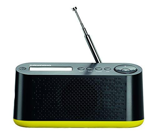 Grundig Music 45 DAB+ Digital Radio schwarz/neongrün