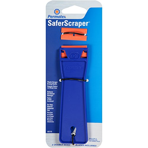 Permatex 80190 SaferScraper, 2 Refillable Blades