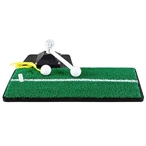 LBJN PRÁCTICA DE Golf Swing Mat Mat Golf Potencia Potencia Potencia Golf Hierba COMPRENDIENTE Mat para Oficina DE Oficina DE Jardin DE Interior Interior