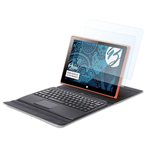 Bruni Schutzfolie kompatibel mit iRulu Walknbook 2 Folie, glasklare Displayschutzfolie (2X)