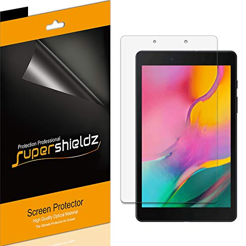 (3 Pack) Supershieldz for Samsung Galaxy Tab A 8.0 (2019) (SM-T290 Model only) Screen Protector, High Definition Clear Shield (PET)