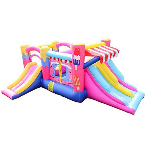 Opblaasbaar Kasteel Kinderen Bouncers Outdoor Grote Amusement Park Apparatuur Slide Ondeugend Kasteel Kleuterschool Speelplaats