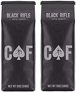 Black Rifle Coffee Company, CAF Blend, Medium Roast Ground (Pack of 2)
