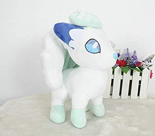 siyat Pokémon Pokemon Aurora EIS Sechsschwanz Fuchs Puppe Plüsch Pokémon Gefüllte Spielzeug 12 Zoll (Größe: 30 cm) Jikasifa (Size : 30CM)