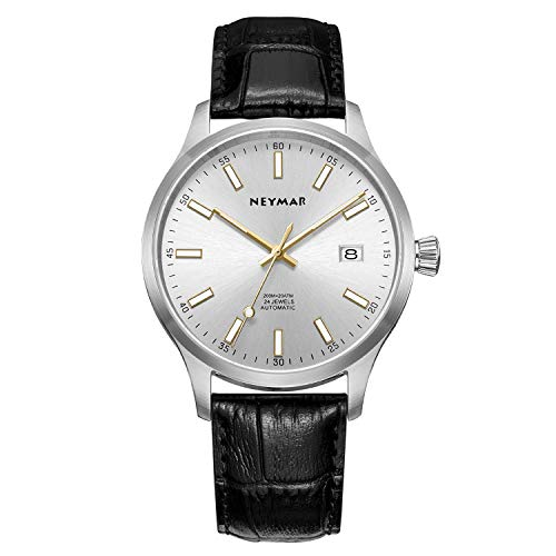 NEYMAR 40mm Automatic Watch 200m Stainless Steel Watch(Holiday Promotion)