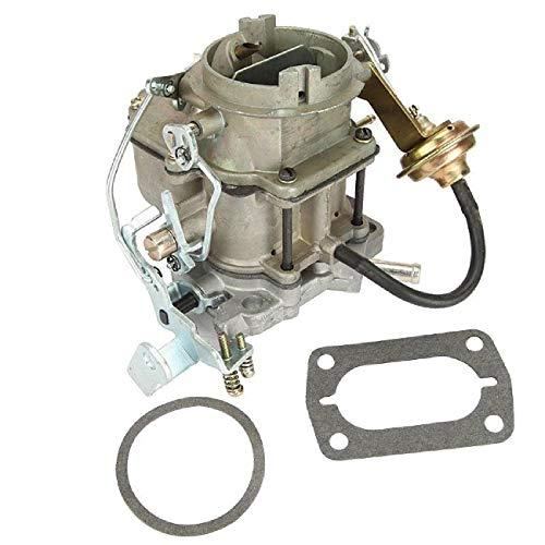 LZZJ Motore carburatore Auto Carb 2 Barili per Dodge Chrysler 318 V8 5.2L 1967-1980 per Dodge 6 Cil Motore in Lega di Zinco Auto Carburatore Automatico