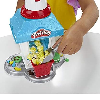Play-Doh Popcornmaschine mit 6 Dosen Play-Doh Knete, ab 3 Jahren 9