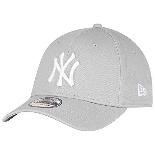 New Era 39Thirty Flexfit Casquette - NY Yankees Gris/Blanc