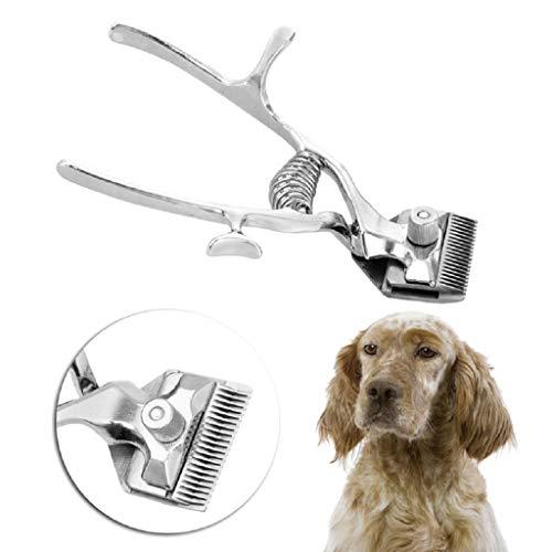 Youlin Profi-Haarschneider, manuell, für Hunde, Metall