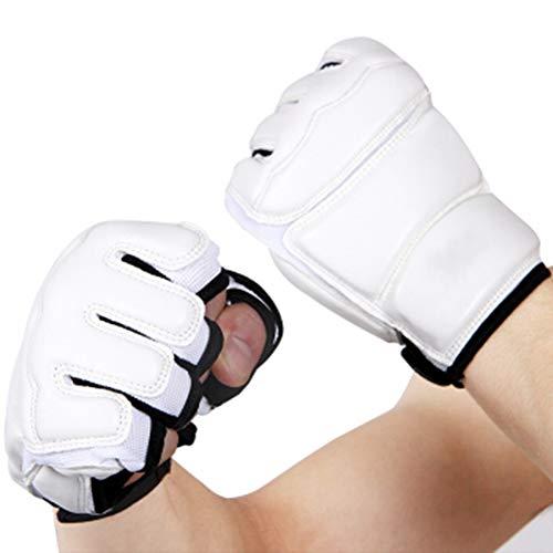 HyXia Boxhandschuhe, MMA-Handschuhe, Fingerlos, Mit 26 M Langem Handgelenk, FüR MMA-, Muay Thai-, Kickbox- Und Kampfsporttraining,XL