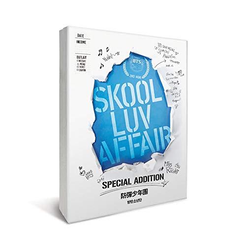 Big Hit Entertainment BTS Bangtan Boys - [Reissue] Skool Luv Affair (Special Edition) 1CD+2DVD+Extra Photocards Set