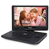 NAVISKAUTO 12 inch Portable Blu Ray DVD Player Support HDMI Out MP4 1080P Dolby Audio Sync Screen with HDMI Cable
