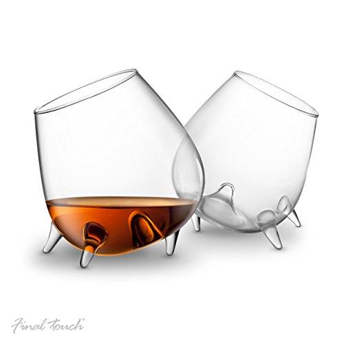 Détendre verre de cognac- ensemble de 2 verres