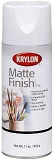Krylon Diversified Brands 1311 Matte Finish Spray Paint, Matte Clear, 11-oz. - Quantity 6