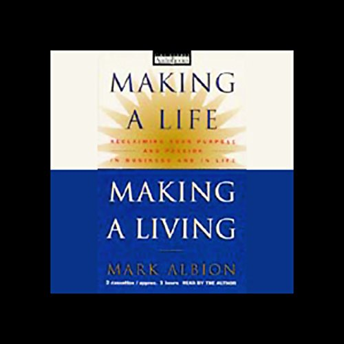 Making a Life, Making a Living audiobook cover art
