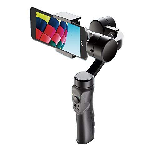 TOPQSC Estabilizador de cardán para smartphone de 3 ejes para iPhone/Samsung/Huawei, estabilizador de mano con registro de vídeo estable seguimiento de objetos faciales para selfie, Vlog, YouTube