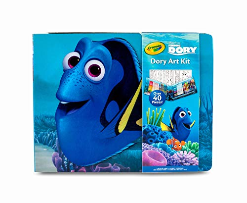 Crayola Finding Dory Art Kit, Gift for Kids, 42 Piece, Ages 5, 6, 7, 8, 04-2014