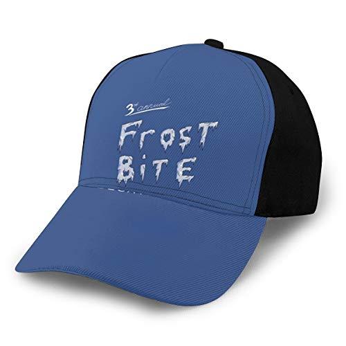 N/ Frostbite - Gorra de béisbol Ajustable, Color Negro