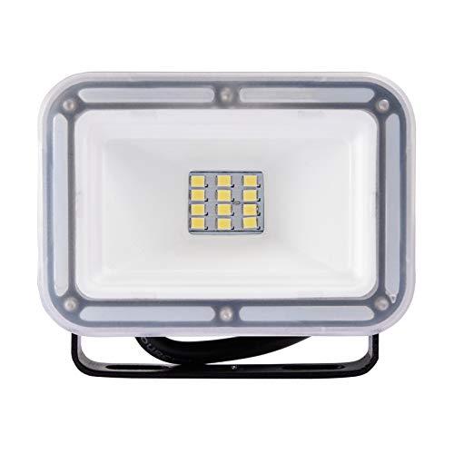 LED Fluter, 10W LED Strahler 6500K Scheiwerfer Superhell Außen Fluter IP67 Wasserdicht Flutlicht Außenstrahler für Garten, Yard, Hinterhof, [Energieklasse A+]