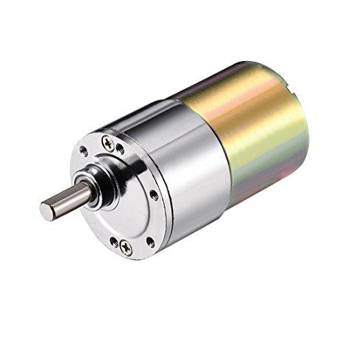 Aexit DC Elektroinstallation 24V 60RPM Micro Getriebe Motor Fehlerstrom-Schutzeinrichtungen Geschwindigkeitsreduzierung Antriebswelle