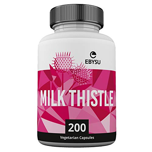 ✅ MAXIMUM RESULTS GUARANTEED: Feel the difference with our milk thistle natural liver detox or your money back! Best milk thistle on the market. ✅ HIGH POTENCY FOR ULTIMATE LIVER SUPPORT: Our milk thistle seed extract (sylibum marianum pills) has 4X ...