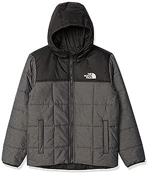 The North Face Boys Reversible Perrito Jacket TNF Medium Grey Heather XL