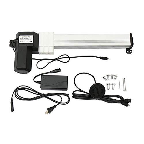 Actuador Lineal Motor 24V 5mm / s, Actuador Lineal de Carrera DC 6000N, 330mm Motor Eléctrico Lineal Accionamiento