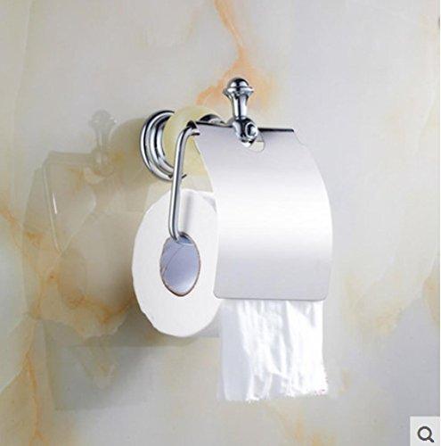 SQL Handtuch Halter Toilettenpapier Halter kontinentalen jade vergoldete Toilettenpapier Halter Papier Handtuch Rack Bad Volumen Papierfach . a