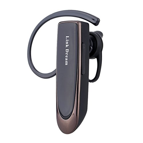 Link Dream lc-b41–Headphone In-ear Wireless Bluetooth V4.0Stereo Handsfree with Microphone 24h Chat For Mobile Smartphone (Black)