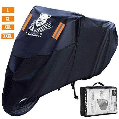 ClawsCover 104 Inch XXL Motorcycle Cover Waterproof Outdoor All Season UV Protection Scooter Bike...