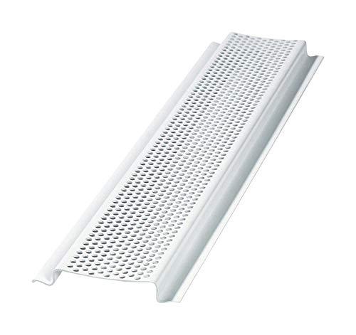 Air Vent 8 ft. L PVC Continuous Soffit Vent - Case of: 50