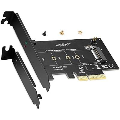 M.2 NGFF M-Key to Desktop PCIe x4 NVMe SSD Adapter Card 2242 2260 2280 M2 Drive