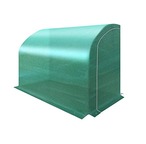 BenefitUSA Lean-to Greenhouse Replacement Canopy Cover for 10'x5'x7' Walk in Green House, Cover ONLY (Green)
