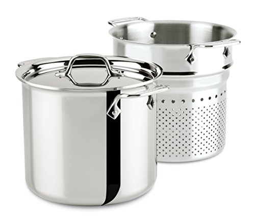 all clad stainless pasta strainer - 3