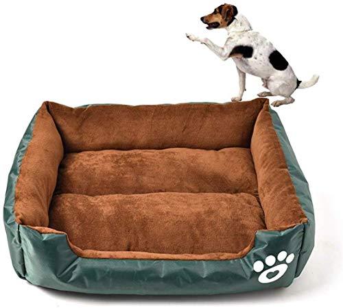 CVXCVCBCG Waterdichte Biting Weerstand hondenbed kattenbed hondenbed extreem zacht huisdier slaapbank dierbenodigdheden groen