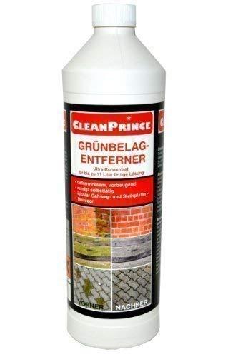 Frente Grünbelag-reiniger Eliminador de Musgo 1000ML Alta Concentración Musgo Algas Verdete