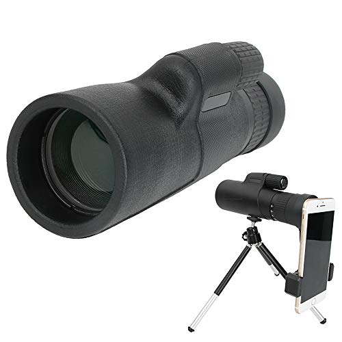 Binow 10-30x42 Monocular Zoom Focus Optics Dual Telescope, Day & Low Night Vision Waterproof Monoculars with Durable and Clear FMC BAK4 Prism Dual Focus for Bird Watching, Camping