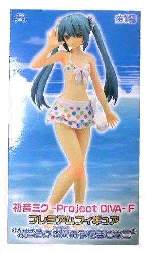 Hatsune Miku-Project DIVA-F Figure With Polka Dot Style Bikini 8 inch 26066