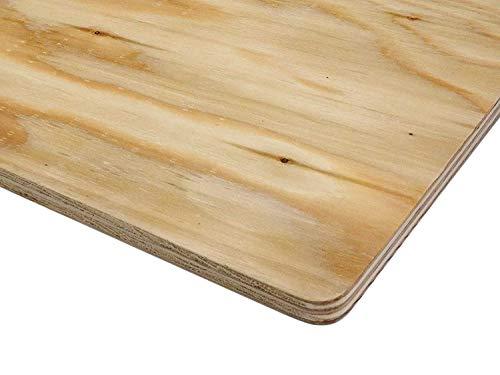 針葉樹合板(構造用合板) 厚み12mm 高耐水性 JAS F☆☆☆☆ 板材・コンパネ・合板 (900×600mmR 4枚セット)