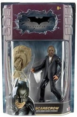 Bathomme Dark Knight Movie Master Exclusive Deluxe Action Figure Svoitureecrow with Cloth Mask by Mattel