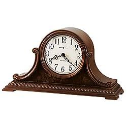 Howard Miller Albright Mantel Clock 635-114 – Windsor Cherry with Quartz & Dual-Chime Movement
