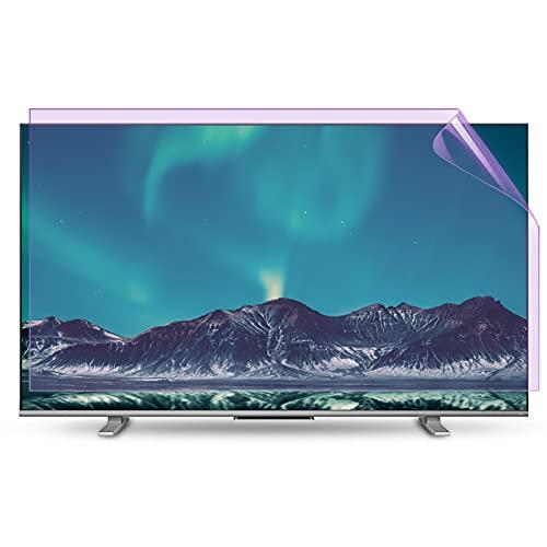 """Protector de Pantalla de TV de 65 Pulgadas filtrando la luz Azul [antirregentes] [Anti-Scratch] [Mate] Película Protectora para el Monitor LCD de TV de computadora,65"""" 1440 * 809"""