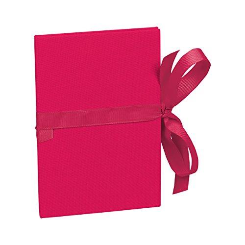 Semikolon (353208) Leporello Classico pink (rosa) - Für 14 Bildern im Format 10 x 15 cm - Ziehharmonika-Fotobuch - Format: 12,2 x 17,7 cm