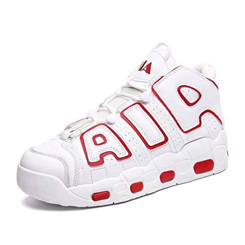 Zapatillas de Baloncesto para Hombres Zapatillas de Deporte Altas Transpirables y cómodas Zapatillas para Correr al Aire Libre para Correr