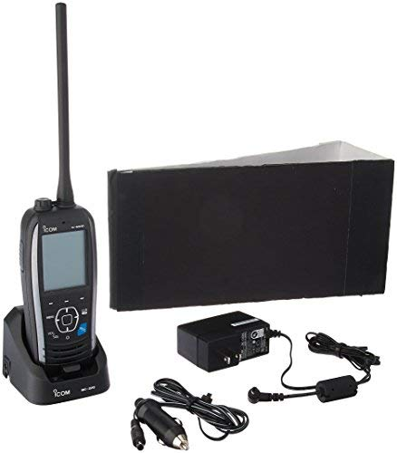 ICOM IC-M93D Marine VHF Handheld Radio with GPS & DSC, 5W