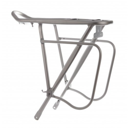 "28 /"" Front Wheel Pannier Rack Silver Front Massload Bl17 Lowrider 26 /"""