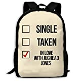 TTmom Cartables,Sac à Dos Loisir Single Taken in Love with Jughead Jones Unisex...