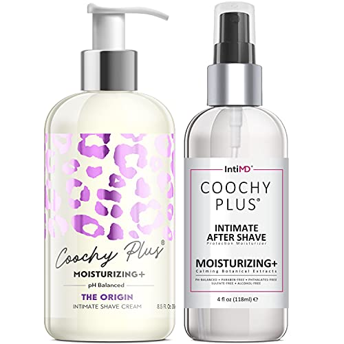 Coochy Plus Intimate Shaving Complete Kit - THE ORIGIN & Organic After...
