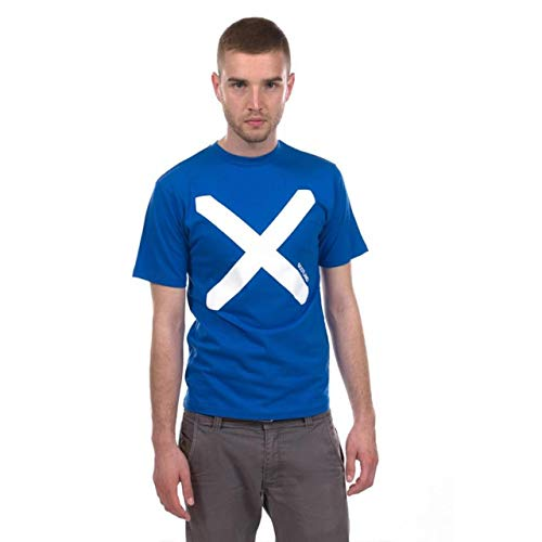 Schotland Heren Saltire Vlag T Shirt